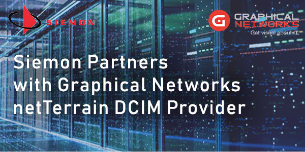 Siemon Partners with Graphical Networks netTerrain DCIM Provider